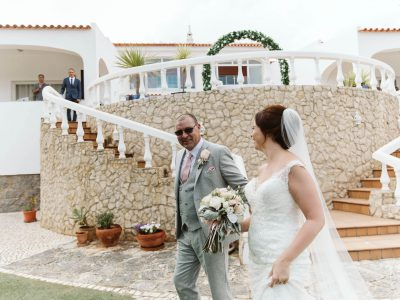 algarve wedding with an event planner, luxury villa venue in Lagos, Portugal