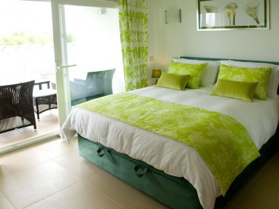Dubbelrum med terrass på Villa Casa Monte Cristo Too, Lagos, Algarve Portugal