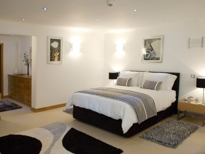 A Luxury and spacious bedroom at Villa Monte Cristo Too, Lagos, Algarve, Portugal