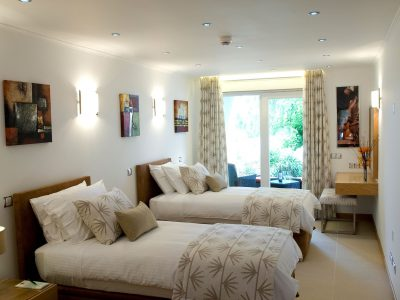 outro quarto duplo na Villa Monte Cristo Too, Lagos, Algarve, Portugal