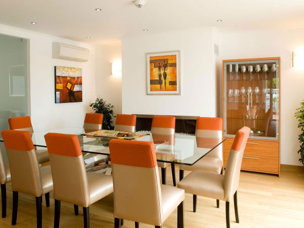 Dining Room at Villa Monte Cristo Too, Luxury villa holidays, Lagos, Algarve in Portugal