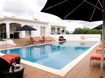 Pool på Villa Casa Monte Cristo Too, villasemester i Lagos, Algarve, Portugal