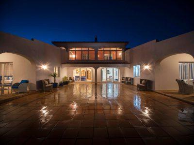 Terrass på Villa Casa Monte Cristo Tres, lyxvillor nr Lagos, Algarve, Portugal