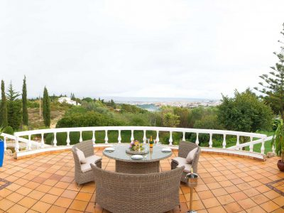 View from the terrace at Villa Casa Monte Cristo Tres, Lagos, Algarve Portugal - Luxury villa with swimming pool