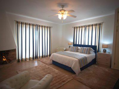 Lyxigt sovrum på Villa Casa Monte Cristo Tres, Lagos, Algarve, Portugal