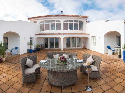 Terraço na Villa Casa Monte Cristo Tres, Algarve Villa de férias, Lagos, Portugal