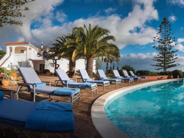Swimming Pool at Villa Casa Monte Cristo Tres, Luxury villa holidays in Portugal, Lagos, Algarve