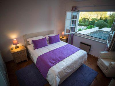 Ett av fem sovrum på Villa Casa Monte Cristo Tres, Lagos, Algarve, Portugal