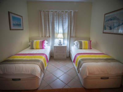 tvåbäddsrum på Villa Casa Monte Cristo, Lagos, Algarve, Portugal