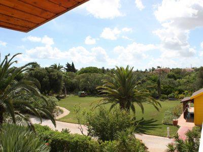 Trädgårdsutsikt från en lyxig lägenhet, Lagos Algarve, Portugal - Casa Monte Cristo Collection