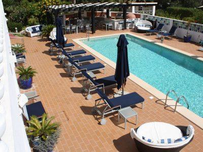 Pool vid Lagos lägenheter, Algarve, Portugal - Casa Monte Cristo Collection