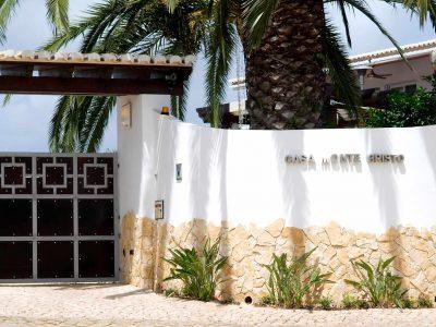 entrada para Case Monte Cristo apartamentos de luxo, Lagos Algarve, Portugal