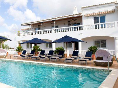 Lägenheter vid poolen i Lagos Algarve, Portugal - Lägenheter på Casa Monte Cristo