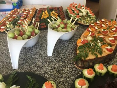 Savour buffet for a bespoke wedding package at Villa Monte Cristo Tres, Lagos, Algarve, Portugal