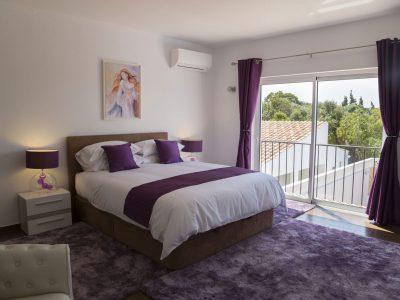 Quarto de casal na Villa Casa Monte Cristo IV, Lagos, Algarve, Portugal