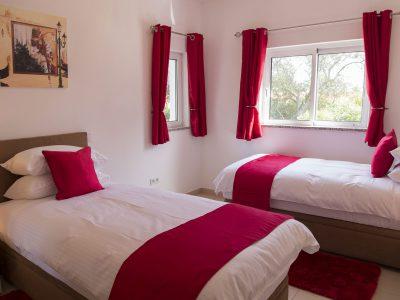 Tvåbäddsrum på Villa Monte Cristo Too, Lagos, Algarve, Portugal